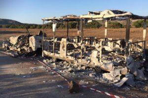 """Anche i giovani di Libera contro l'attentato all'Asinara: """"Non restiamo indifferenti, non spegnerete la nostra voglia di reagire""""."""