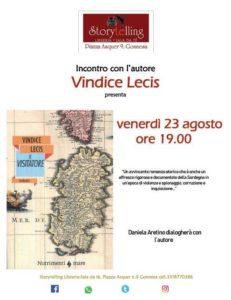 """Venerdì 23 agosto, a Gonnesa, Vindice Lecis presenterà il suo ultimo libro """"Il visitatore""""."""