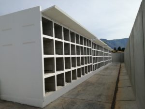 Sono terminati oggi i lavori per la realizzazione di 280 nuovi loculi nel cimitero di Iglesias.