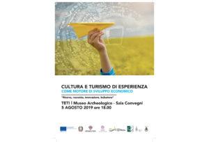 Lunedì 5 agosto, al Museo archeologico di Teti, il GAL BMG presenta i bandi su itinerari tematici.