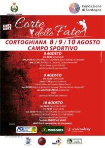 """Anche quest'anno Cortoghiana, dall'8 al 10 agosto, si veste a festa, per la """"Corte delle Fate""""."""