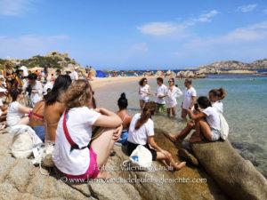 All'Arcipelago di La Maddalena si è conclusa la prima settimana di sensibilizzazione al rispetto del mare in Italia.