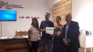 Una coppia di turisti provenienti da Cagliari ha tagliato ieri sera, a Mogoro, il traguardo dei 10mila visitatori della 58ª Fiera dell'Artigianato Artistico della Sardegna.