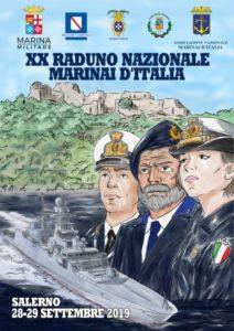 """Si terrà dal 23 al 29 settembre, a Salerno, il XX Raduno nazionale della """"famiglia marinara italiana""""."""