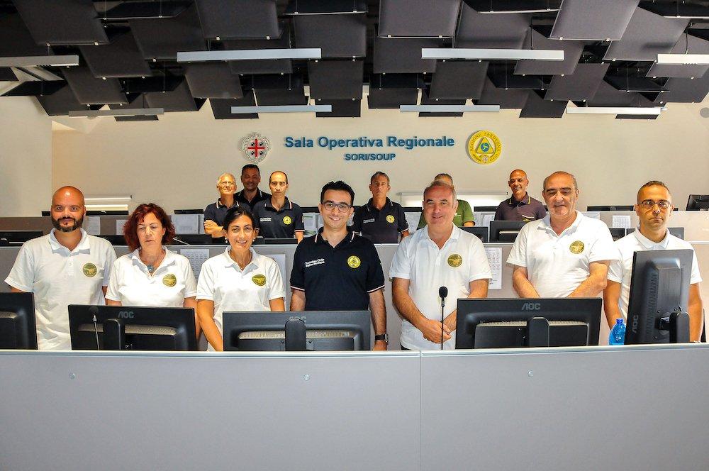 """Gianni Lampis: """"Il numero degli incendi è cresciuto ma è notevolmente migliorata la tempistivita' di intervento""""."""