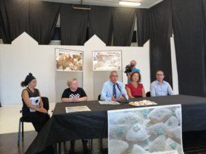 E' stata presentata stamane la 39ª Mostra artistica del pane, dolce e vino da dessert, che si terrà all'ex Casa Angioni di Quartucciu dal 21 al 23 settembre.