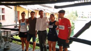 I campioni di tennis e padel si esibiscono in Costa Smeralda.