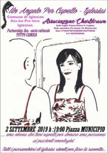 """Lunedì 2 settembre, Iglesias ospiterà """"Un Angelo per Capello"""", manifestazione che si propone di fornire un aiuto ai pazienti oncologici che non possono acquistare una parrucca."""