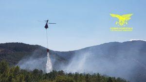 Il personale del Corpo forestale sta gestendo in questi minuti l'intervento di 2 suoi elicotteri provenienti dalle basi di Limbara e Alà dei Sardi su un incendio a Loiri Porto San Paolo.