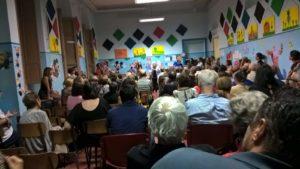 Centocinquanta persone hanno partecipato all'assemblea di quartiere organizzata dal Comitato di Casteddu de Susu e tenutasi nei locali della Scuola di Santa Caterina.
