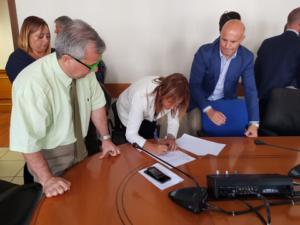 Oggi, al ministero del Lavoro, è stato ratificato definitivamente l'accordo per la cassa integrazione dei dipendenti della Cict al Porto canale di Cagliari.