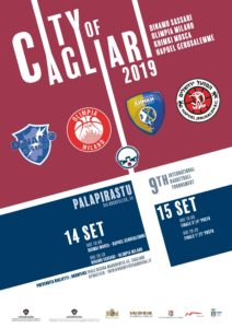 "Il PalaPirastu di via Rockfeller, ospita oggi e domani la nona edizione dell'International Basketball Tournament ""City of Cagliari""."