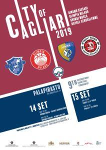 """Il PalaPirastu di via Rockfeller, ospita oggi e domani la nona edizione dell'International Basketball Tournament """"City of Cagliari""""."""