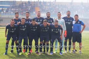 Il Carbonia torna in campo questo pomeriggio, alle 15.00, ad Arbus, per l'andata delle semifinali della Coppa Italia di Eccellenza regionale.
