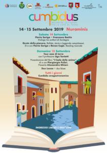 """""""Cumbidus. Incontri letterari tra le case di terra"""" si terrà a Nuraminis il 14 e 15 settembre 2019, organizzata dall'Amministrazione comunale."""
