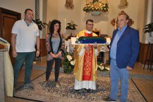 Don Andrea Piras lascia la parrocchia di Stintino per dirigere il seminario vescovile di Sassari.
