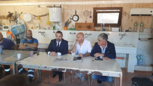 Michele Pais (presidente del Consiglio regionale): «Il Consiglio regionale è vicino ai lavoratori della Miniera di Olmedo. Mi farò portavoce delle vostre istanze con il presidente della Regione».