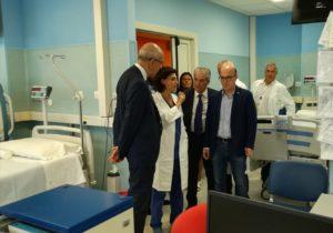 L'assessore della Sanità e quattro consiglieri regionali hanno visitato stamane l'ospedale San Marcellino di Muravera.