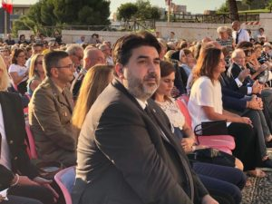 Il presidente della Regione ha preso parte alla solenne celebrazione del rito di apertura del Giubileo per i 650 anni dell'arrivo della statua della Madonna al Colle di Bonaria.