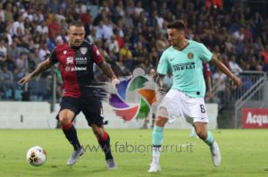 Il Cagliari risorge al Meazza, rimonta un goal all'Inter e ora affianca il Milan ed il Parma al 6° posto.