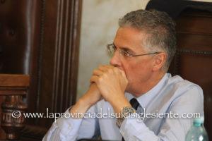 Roberto Frongia (assessore LL.PP.): «La decisione della Regione di astenersi è un atto di sfiducia nei confronti dei vertici della società Abbanoa».