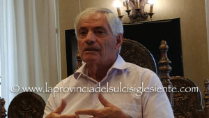 Il presidente Tarcisio Agus presenta il resoconto dell'attività svolta dal Parco Geominerario Storico Ambientale della Sardegna nell'anno che si chiude oggi.