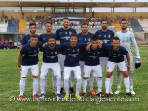 Il Carbonia supera agevolmente la San Marco Assemini '80 anche nel match di ritorno, 3 a 0, ed accede ai quarti di finale della Coppa Italia di Eccellenza.