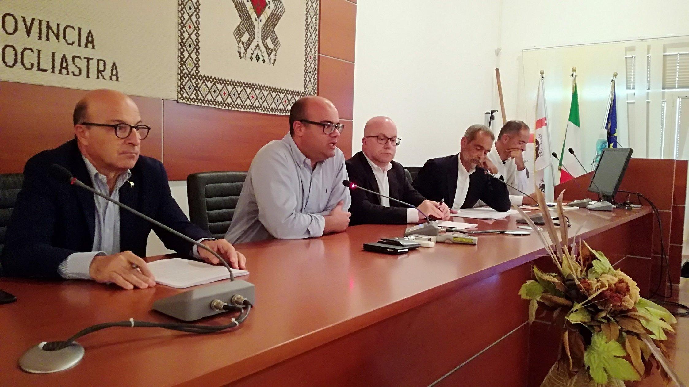 """Mario Nieddu (assessore regionale della Sanità): """"Il dialogo con i territori è aperto""""."""