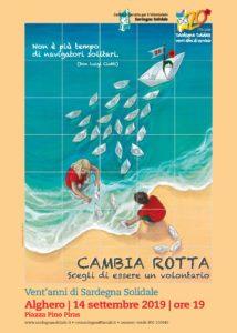 Sabato 14 settembre, ad Alghero, una ceramica artistica in piazza per celebrare i vent'anni di Sardegna Solidale.