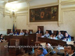 Gli assessori regionali dell'Industria e dei Lavori pubblici, hanno partecipato stamane, a Iglesias, ad un incontro con i sindaci del Sulcis Iglesiente.
