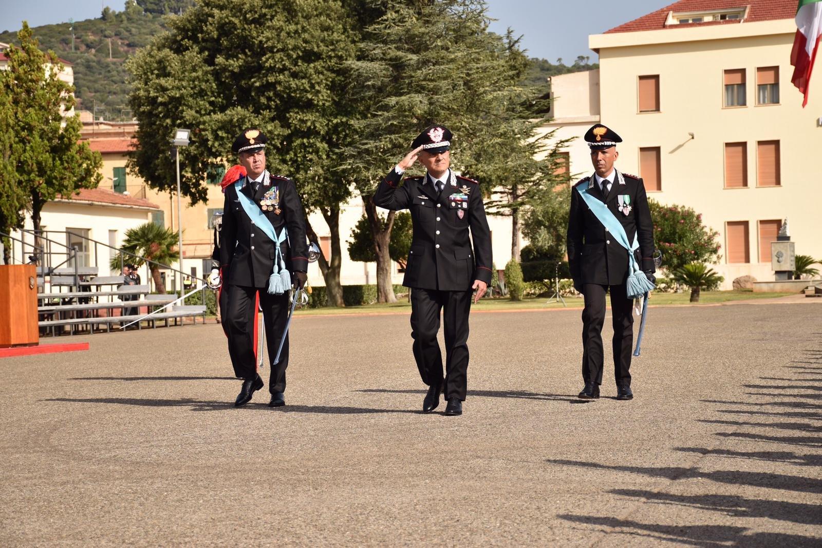 Il colonnello Andrea Desideri è il nuovo comandante della Scuola allievi carabinieri di Iglesias.