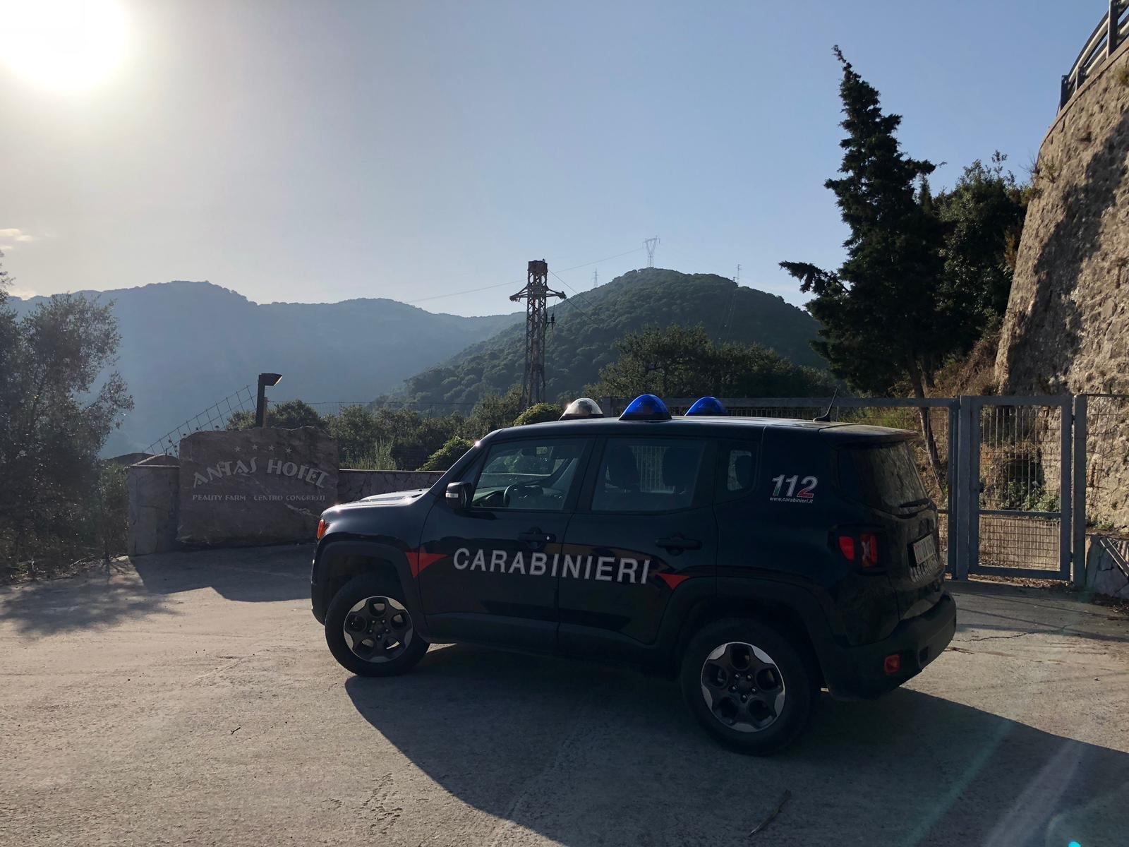 I carabinieri della Compagnia di Iglesias hanno deferito all'Autorità giudiziaria cinque persone, responsabili di alcuni furti verificatisi presso l'ex Hotel Antas di Fluminimaggiore, già centro di accoglienza per extracomunitari.