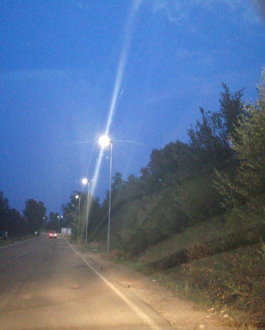 Sono stati completati, a Iglesias, i lavori del secondo lotto per la realizzazione degli impianti di illuminazione di via Paolo Borsellino.