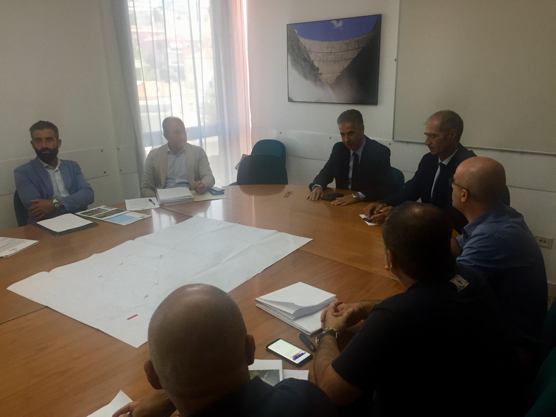 Un tavolo tecnico in Regione per una soluzione temporanea per il ponte di Oloe'.