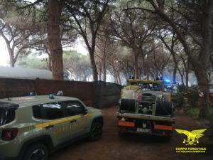 Il Corpo forestale è ancora impegnato con i suoi mezzi aerei e le sue squadre a terra negli incendi sviluppatisi ad Arborea e Bosa.