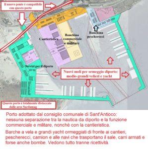 Ieri sera, nella sala consiliare del comune di Sant'Antioco, il Comitato Porto Solky ha ribadito le ragioni della contrarietà alla realizzazione del nuovo ponte.