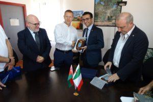 Si è conclusa la missione in Sardegna degli specialisti bielorussi del settore della Protezione civile.