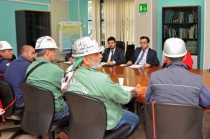 CGIL, CISL e UIL esprimono un giudizio positivo sul via libera dell'assessorato della Sanità al progetto di ripartenza di Eurallumina.