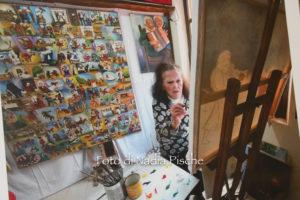 E' stata un successo, a Carbonia, la mostra dell'artista iglesiente Consuelo Trombino.