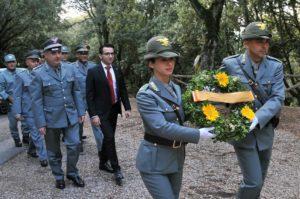 E' stato celebrato stamane, a Nuoro, il 174° anniversario dell'istituzione dell'Amministrazione forestale in Sardegna e del patrono dei forestali.
