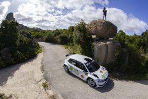 Maurizio Diomedi e Mauro Turati al comando nella prima giornata del Rally Terra Sarda.