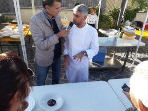 """Lo chef Fabio Vacca ha vinto, a Neoneli, l'edizione 2019 di """"Sa Fregulada"""",  la tradizionale gara di cucina con ricette originali a base di fregula."""