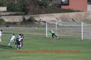 Un calcio di rigore trasformato da Marcello Angheleddu al 4′ del secondo tempo, ha dato i 3 punti al Carbonia nel difficile match casalingo con la San Marco Assemini '80.