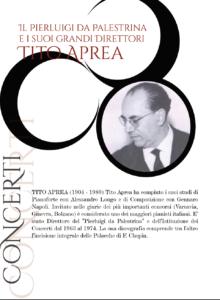 Domani e lunedì, omaggio a Tito Aprea, nei due nuovi appuntamenti con il Festival pianistico del Conservatorio.