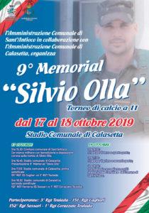 Giovedì 17 e venerdì 18 ottobre, si svolgerà a Calasetta, la 9ª edizione del Memorial Silvio Olla di calcio.