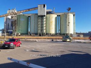 Giornata di mobilitazione dei lavoratori del polo industriale di Portovesme, a sostegno dell'annosa vertenza energetica.