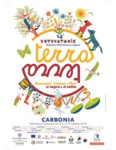 """A Carbonia si rinnova anche nel 2019 l'appuntamento con il Festival di Letteratura per ragazzi """"Tuttestorie""""."""