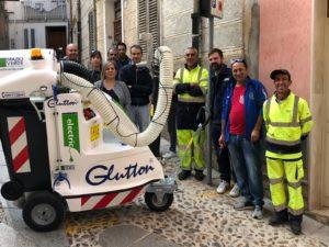 Il comune di Sennori ha acquistato un nuovo macchinario per l'aspirazione dei rifiuti urbani.