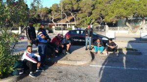 Nuovi sbarchi di migranti tra ieri pomeriggio e stamane sulle coste del Sulcis, complessivamente sono arrivati 76 algerini.
