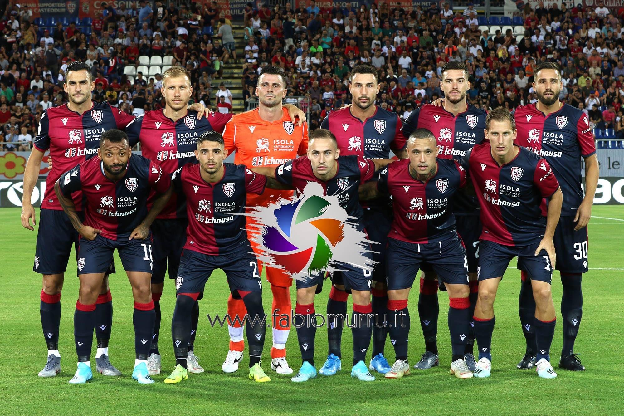 Alle 15.00 Cagliari in campo allo stadio Olimpico contro la Roma.